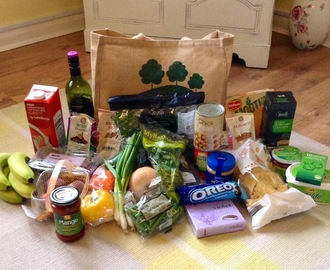 Inside the vegan shopping bag