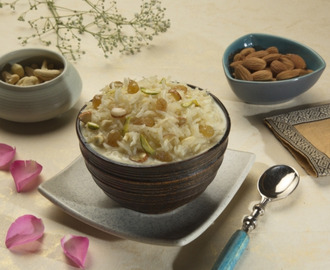 Dry Fruit Rice Kheer