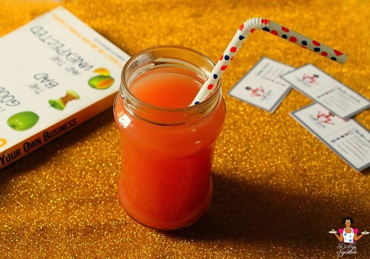 Mixed fruit juice - Apple watermelon ginger juice