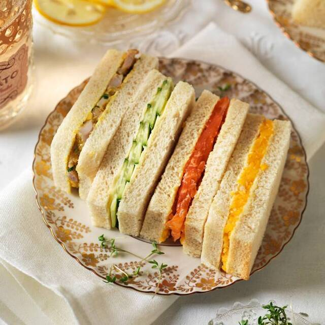 Sandwich – recept på sandwich till afternoon tea