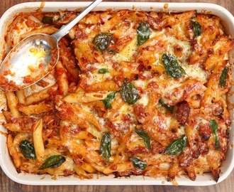 Easy Tuna Pasta Bake