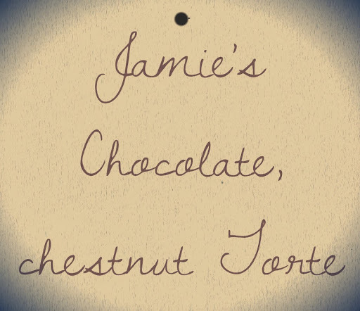 Jamie's chocolate and chestnut torte (done my way)
