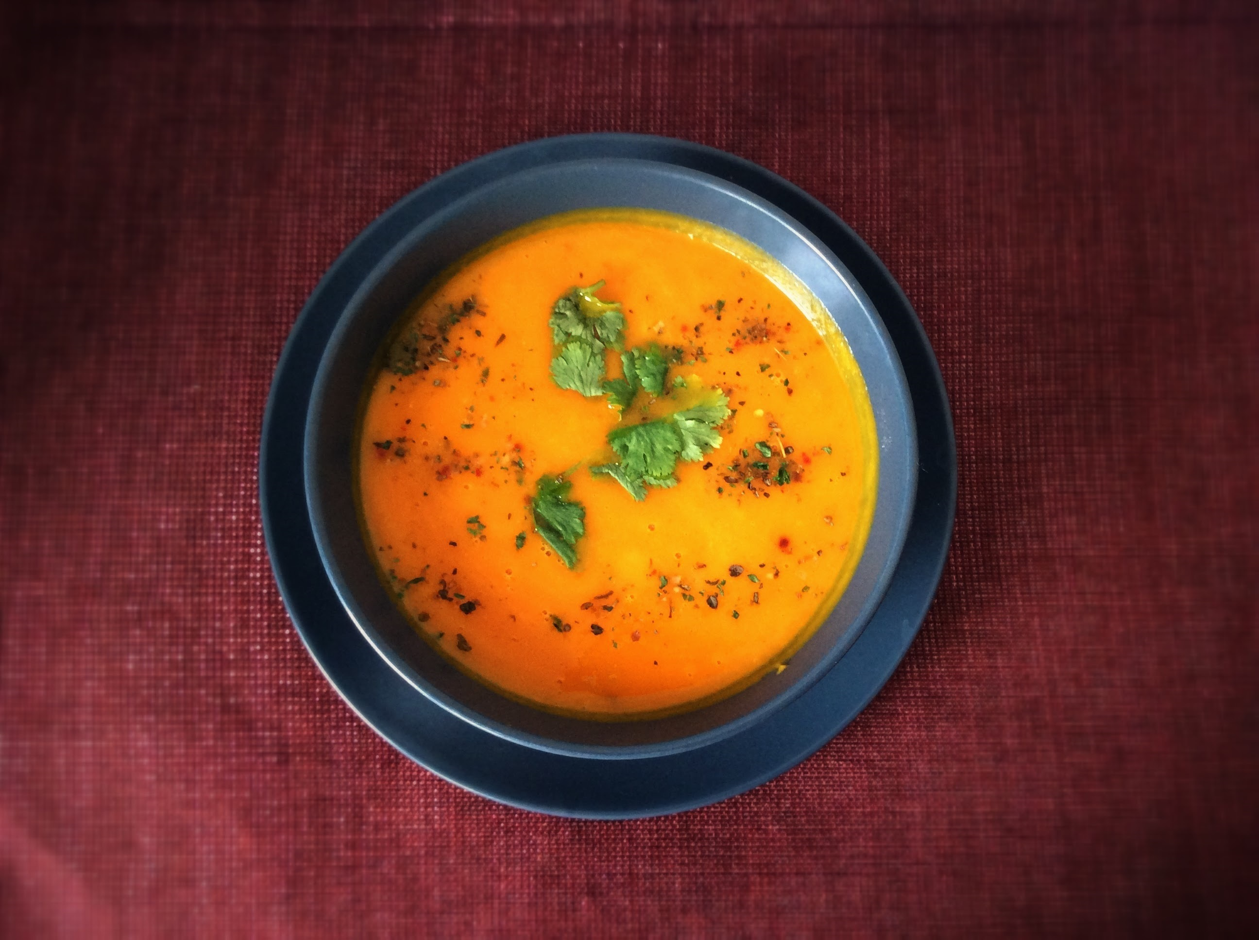 Curried Butternut Squash Soup-HEALTHY BITES
