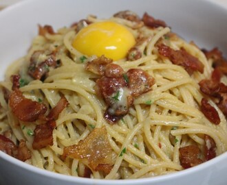 Spaghetti Carbonara…Like This or Like That!
