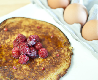 Banana Pancakes – low FODMAP breakfast or dessert