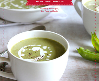 Pea and Spring Onion Soup