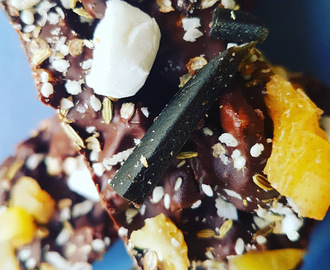 Licorice, Pear and Mukhwas Rocky Road