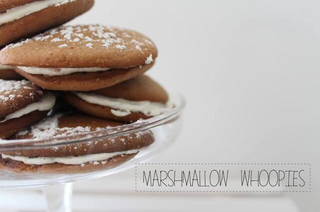 Whoopies mit Marshmallow Füllung [World Baking Day]