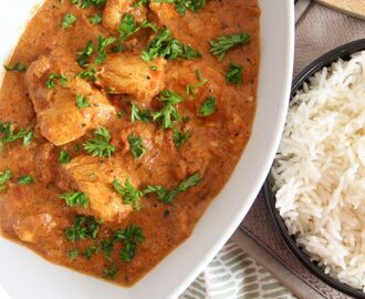 Poulet à l'indienne (Butter Chicken Masala)