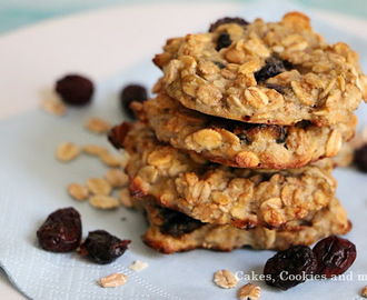 "Haferflocken Cookies mit Bananen und Cranberries von ""Cakes, Cookies and more"""