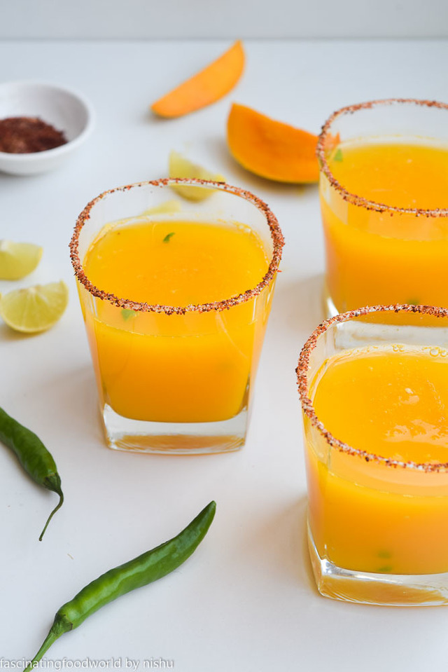 Mango chilli lemonade