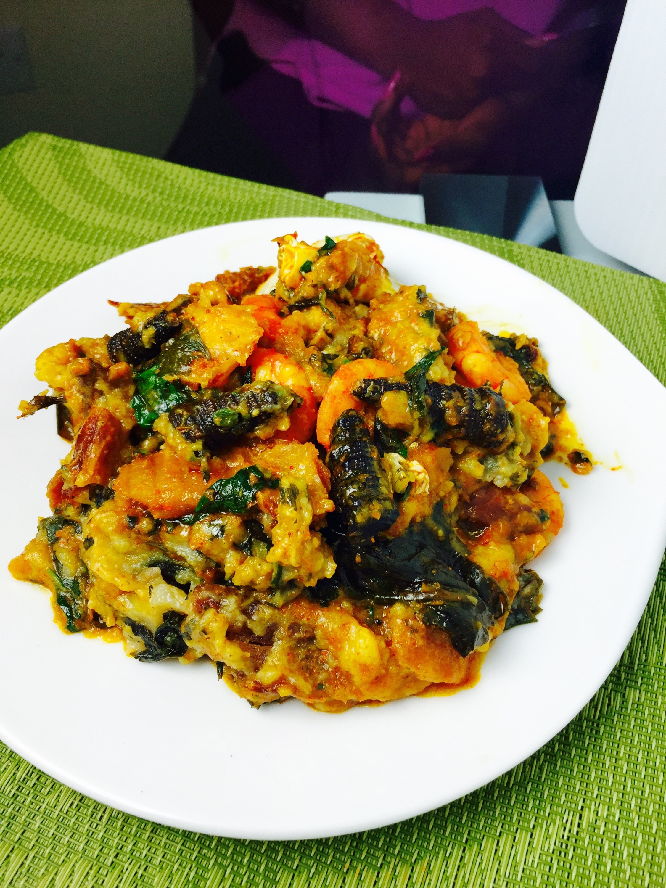 Ekpang Nkukwo – food for the gods
