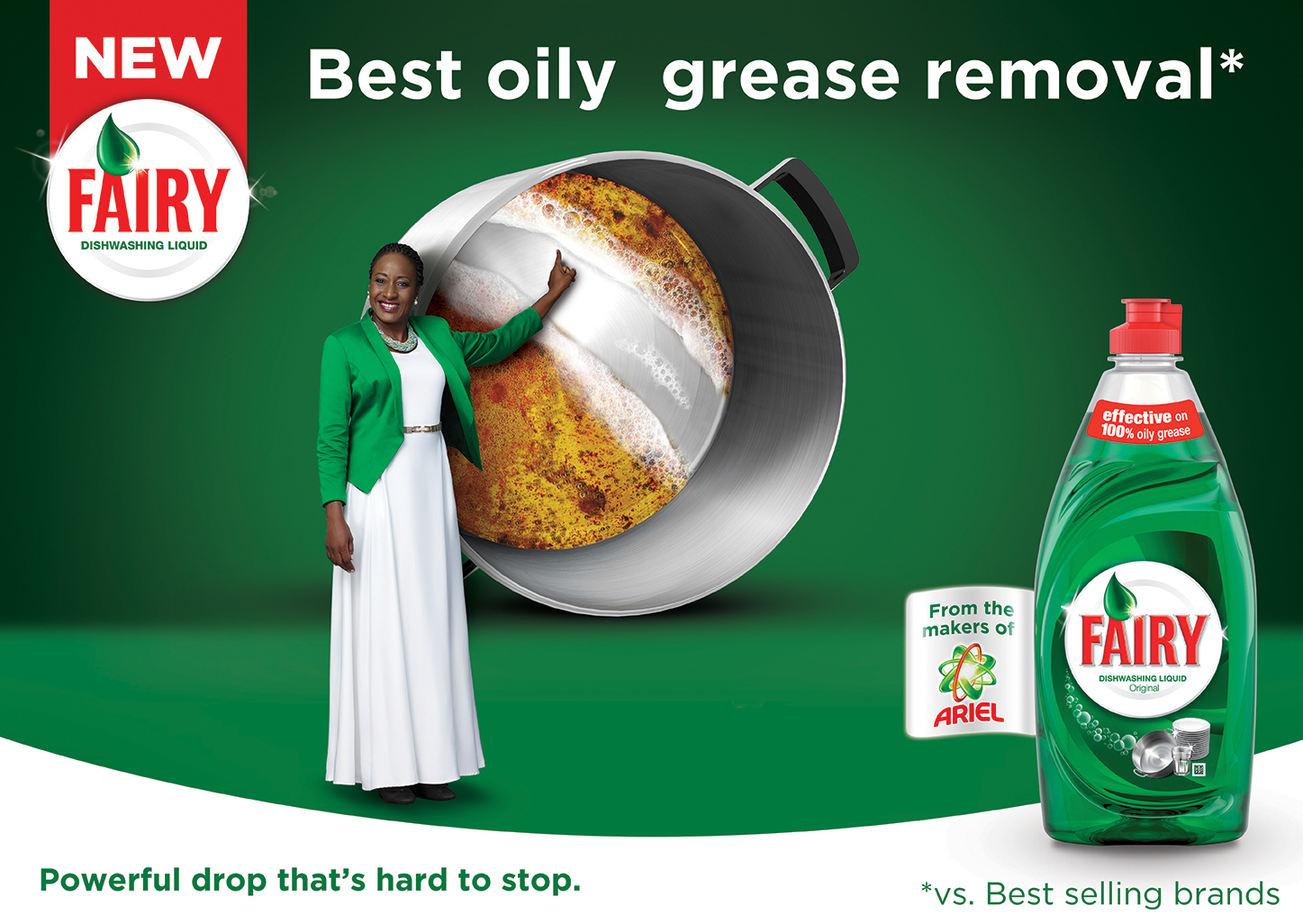 New Fairy dishwashing liquid impresses the toughest critics