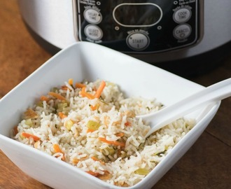 Rice Cooker Rice Pilaf