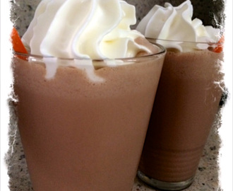 Superlekkere chocolademilkshake