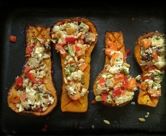Recipe: Stuffed Butternut Squash