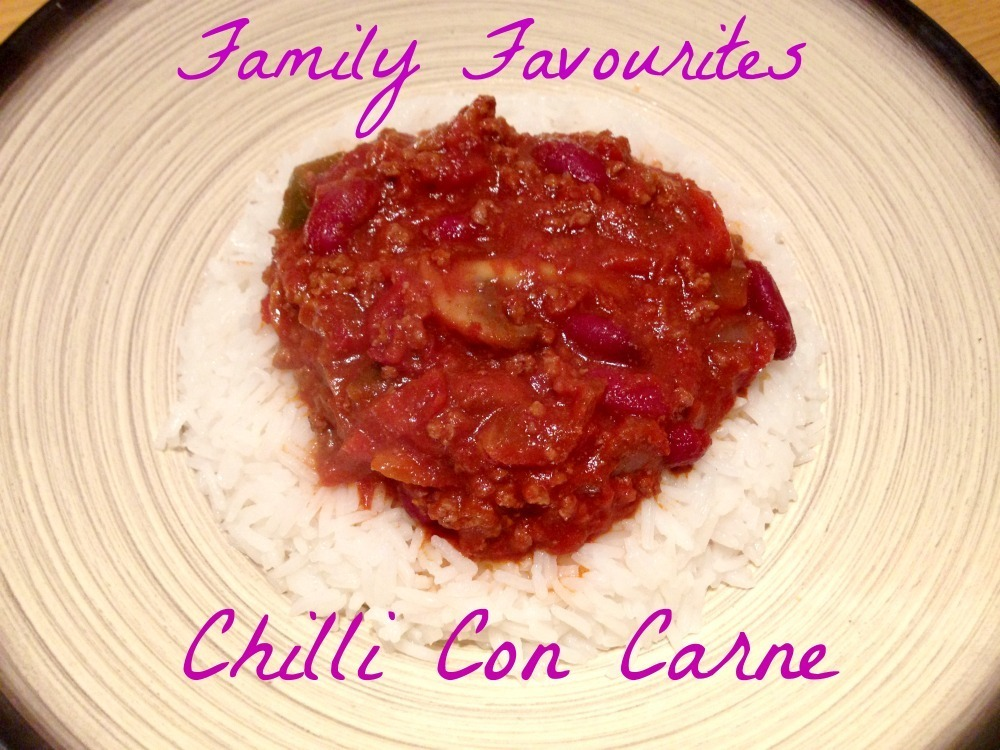 Family Favourites – Chilli Con Carne