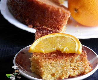 Easy Orange Juice Cake (Orange Cake)