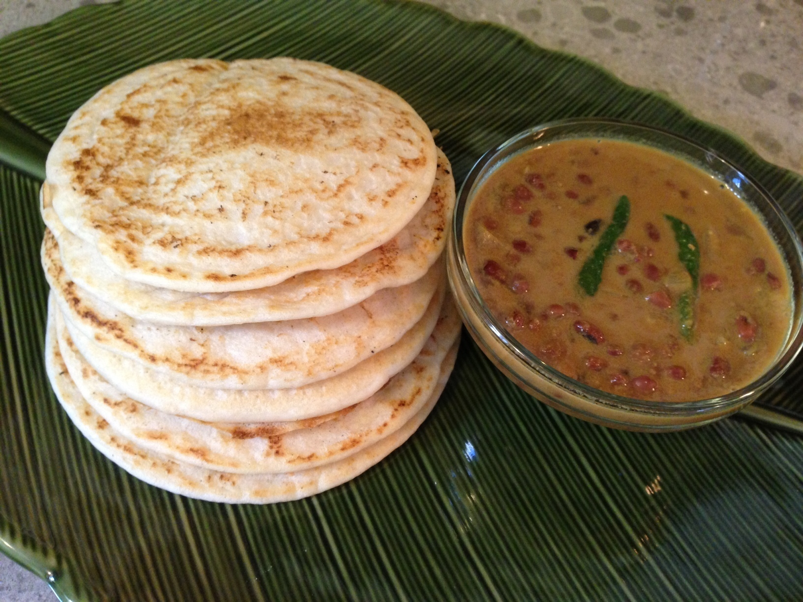 Brown Rice Set-Dosa & Kadala Curry