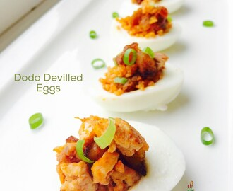 Nigerian Devilled Eggs