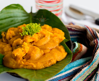 "Ikokore recipe - How to Make Ikokore ""Water Yam Porridge"""