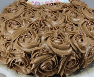 Tarta de buttercream de nutella Thermomix