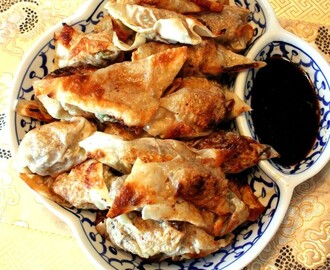 Chinese Pork and Scallions Dumplings