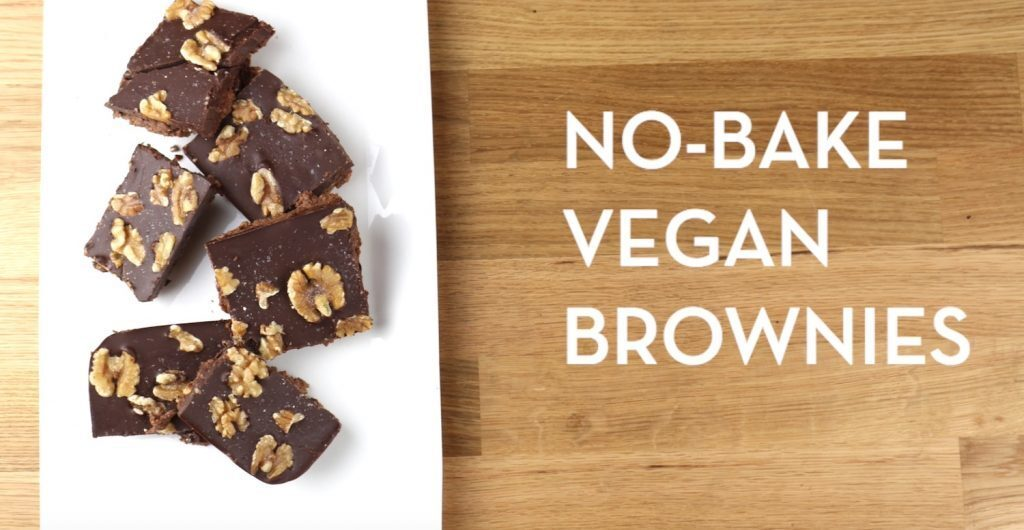 Sweet Treat: No-Bake Vegan Brownie Recipe