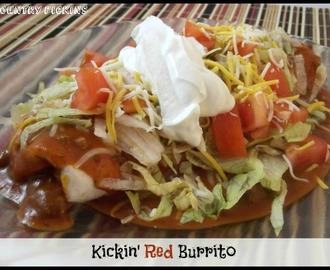 Kickin Red Burritos