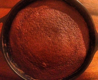 Skillet Chocolate Cake with Chocolate Icing