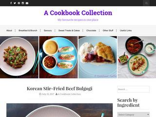 A Cookbook Collection