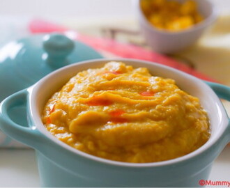 Beans and Sweetcorn Baby Puree
