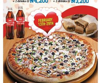 Grab the TWO SOME DEAL with Domino's Pizza this Valentine Season
