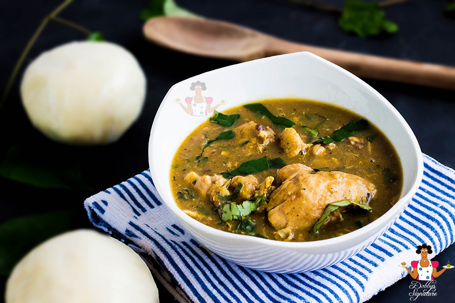 "Afia Efere Recipe - How to make Efik style ""white soup"""