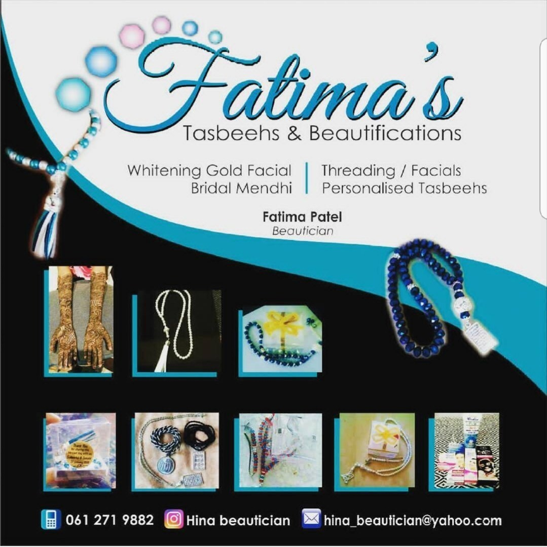 HINA BEAUTICIAN (Fatima Patel) – SMALL BUSINESS FOCUS IN SOUTH AFRICA