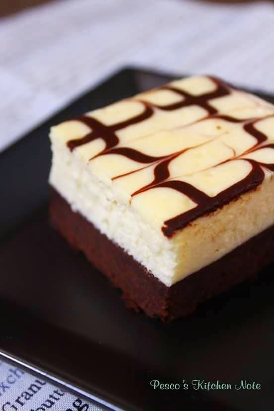 Cream Cheese Brownies 起司布朗尼