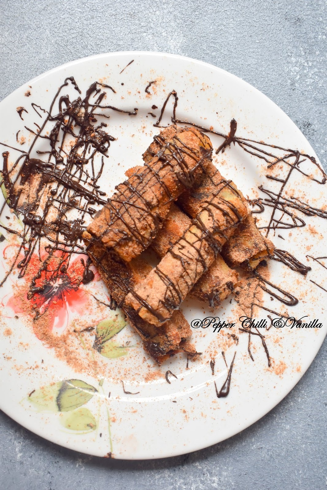 Nutella French Toast Roll Ups/Nutella Stuffed French Toast Rolls