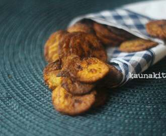 Homemade Baked Plantain Chips