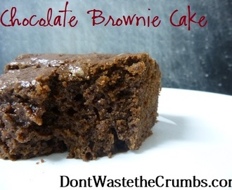 {Yummy} Recipe: Chocolate Cake with Coconut Oil and a Giveaway!