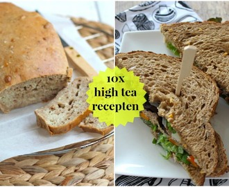 10x high tea recepten