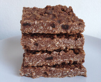 No bake chocolade havermout repen