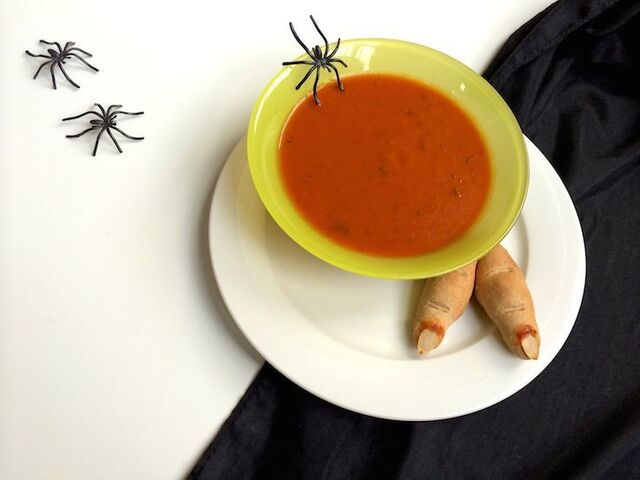 KIDS: Griezelig Halloween menu