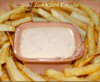 Spicy Lime Ranch Dressing