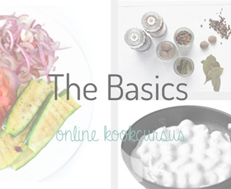 The Basics #3 Salades en Dressings maken
