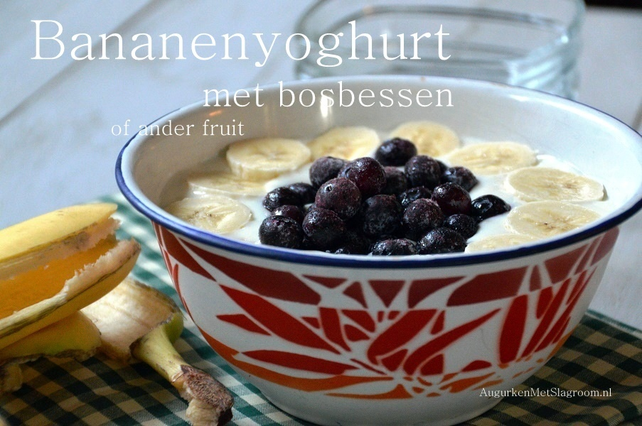 Fruityoghurt met fruit