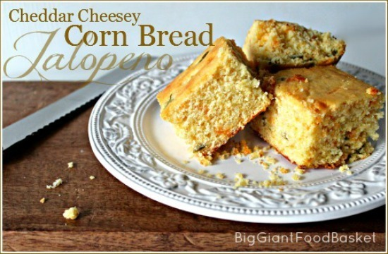 Cheddar and Jalapeno Corn Bread