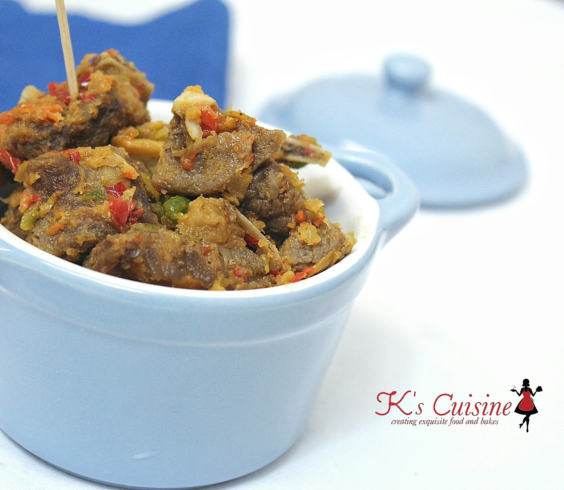 Asun (spicy smoked goat meat)