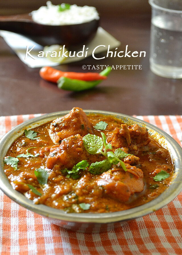 How to make Chettinad Pepper Chicken Masala / Karaikudi Chicken /  Restaurant Style Recipe: