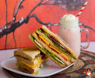 Classic club sandwich recipe : How to make a club sandwich