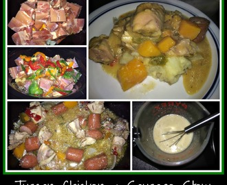 Crock Pot Recipe:  Tuscan Chicken and Sausage Stew